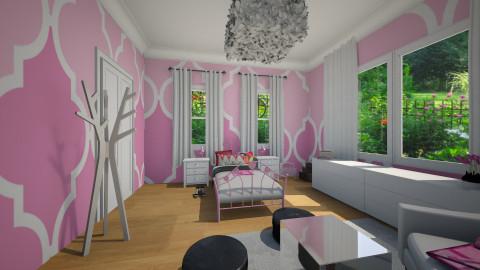 Girls Bedroom - Kids room  - by BillyBobJoeJohnPablo