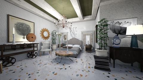 BedRoom_Interior - Classic - Bedroom  - by Nikos Tsokos