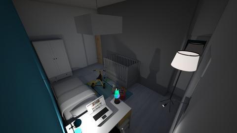 2 kids room  - Modern - Kids room  - by sethcartagena