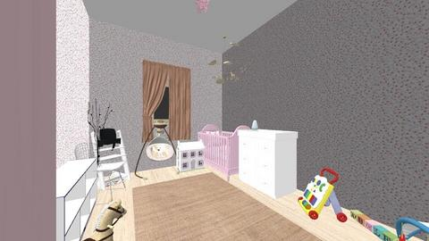 Baby girl room - Kids room  - by Aaaaaak