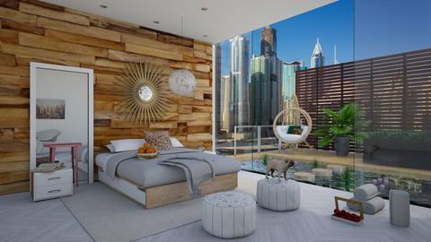 Adyas bedroom - Modern - Bedroom  - by bgref