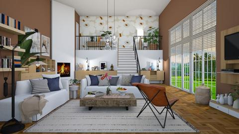 Expresso Delight  - Modern - Living room  - by janip
