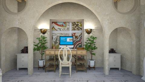 boho office - Modern - Office  - by zayneb_17