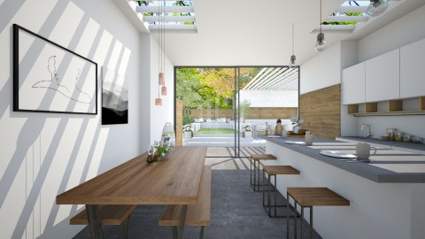 Garden_Kitchen - Modern - Garden  - by StienAerts