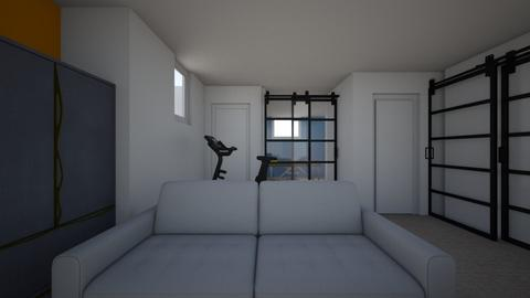 Basement New Draft 2 - Living room  - by apotter3