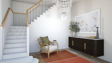 Statement Nook - Minimal - Living room  - by SunflowerStudios