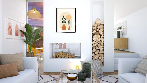 c o z y  l i v i n g - Living room  - by aestheticXdesigns
