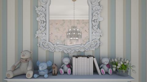 Twin Room Close Up 2 - Kids room  - by Fofinha