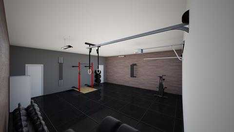 garage gym rough - by AlexB555