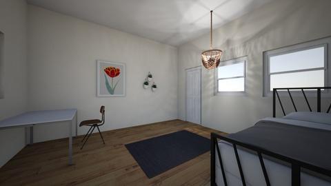 simple bedroom - Minimal - Bedroom  - by jilly bean