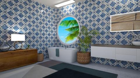 turkiye adalari - Bathroom  - by selin demiray1