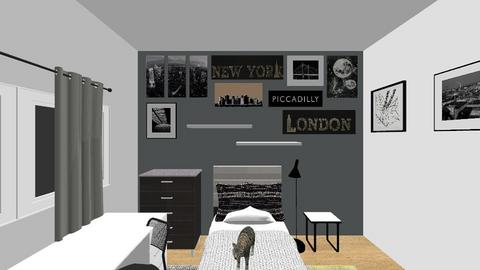 new room - Minimal - Bedroom  - by mariaelgie