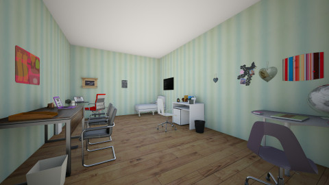 office - Modern - Office  - by jhasminecool