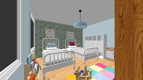Kinderkamer 1 - Kids room - by tinegregoor