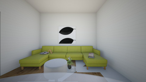 Modern House - Modern - Living room - by tbyrn77