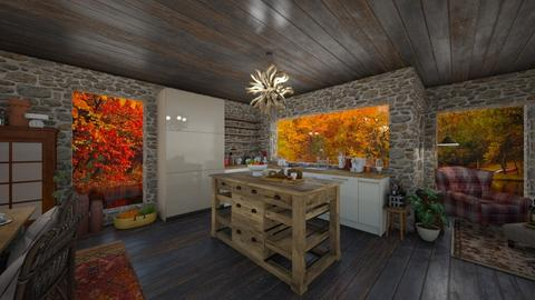 autumn kitchen - Kitchen  - by nataliaestevez