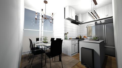 Dining room  - Kitchen  - by KealyFerris