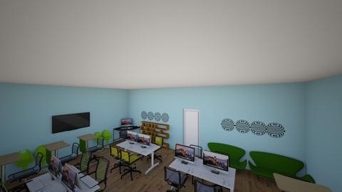 Comp sci room - by amandasmith930
