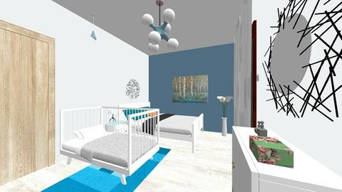 dormitor 1 - Bedroom - by andreiaionescu