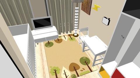 LAURA ROOM - Minimal - Kids room  - by IngridaRiga