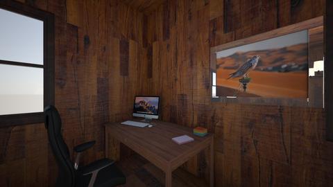 3D room - Rustic - by Mazurej20