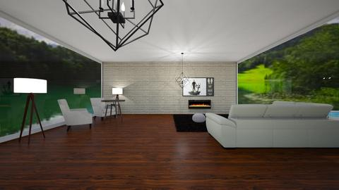 living area 1 - Modern - Living room  - by jo_le