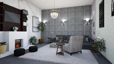 wood - Living room  - by steker2344