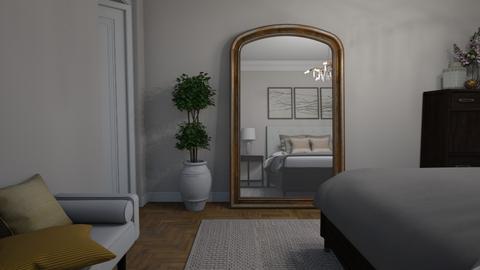 Mirror on the floor - Bedroom  - by Thrud45