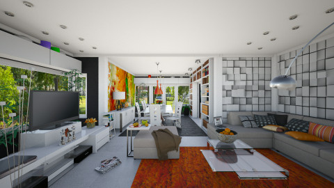 Ground Floor - Modern - Living room - by Ida Dzanovic