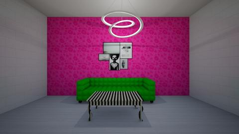 neon - Modern - Living room - by nataesquenazi