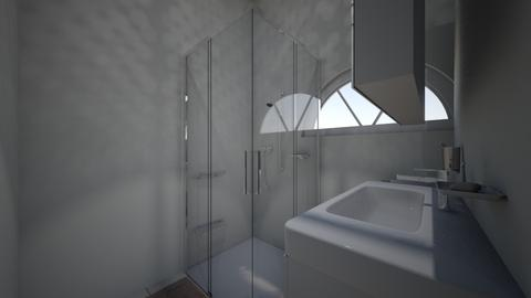 Quaint Cottage Bathroom - Classic - Bathroom  - by Flamingprincess
