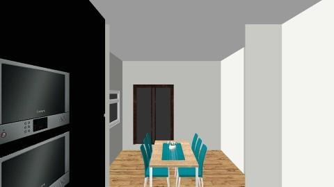 Open Plan Ground V4 - Vintage - Living room  - by Natasha Batsford
