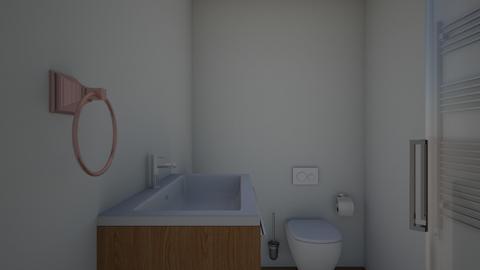 Loft toilet - Bathroom  - by pagu83