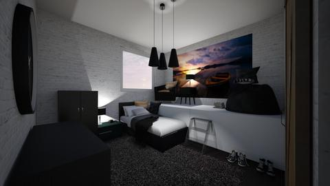 small bedroom - Rustic - Bedroom  - by RhodriSimpson13