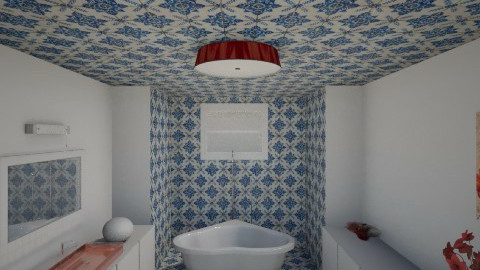s - Retro - Bathroom  - by Sara alwhatever