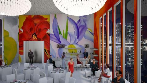Okeefe Restaurant - by MoxieCreative