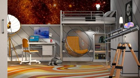 SpaceX Teen Bedroom - Bedroom - by GraceKathryn