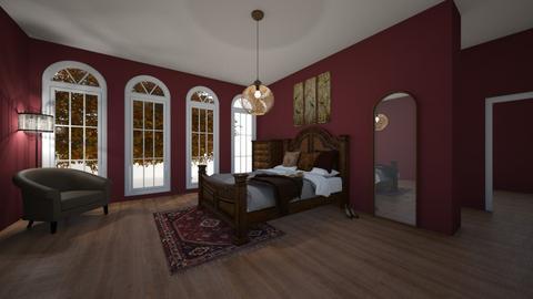 Autumn Bedroom - Rustic - Bedroom  - by WibbleWobble
