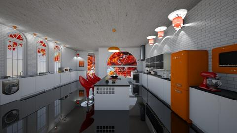 Kitchen 8th room - Kitchen  - by shoalehnia