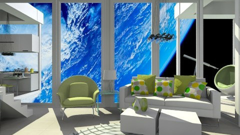 Space Home - Modern - Living room  - by smccauley029