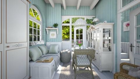 Summer cravings - Country - Living room  - by Leyvna