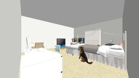 cutesy bedroom - Bedroom  - by abakolis1663
