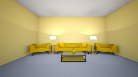Yellow Living Room - by MatteaM