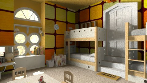Kiddie - Kids room  - by Toleds