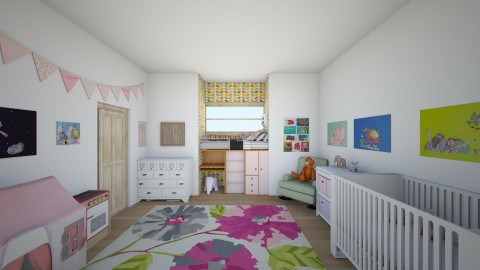 Toddler and Infant Broom - Kids room  - by mcv123me