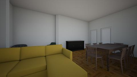 Flores Guth - Living room  - by konguth
