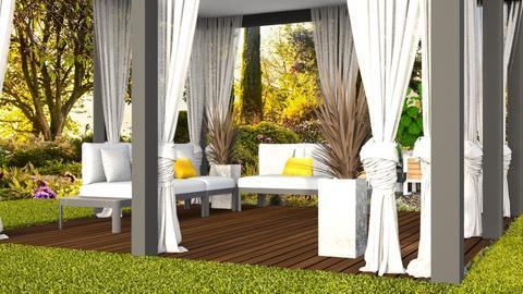 Garden Screen House1 - Garden - by szaboi