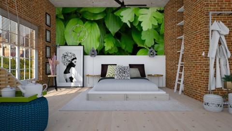 simple - Modern - Bedroom  - by Evangeline_The_Unicorn
