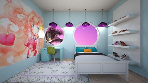 Bright Bedroom - Modern - Bedroom  - by Woweee
