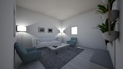 symmetric room  - Living room  - by alisonchihuahua